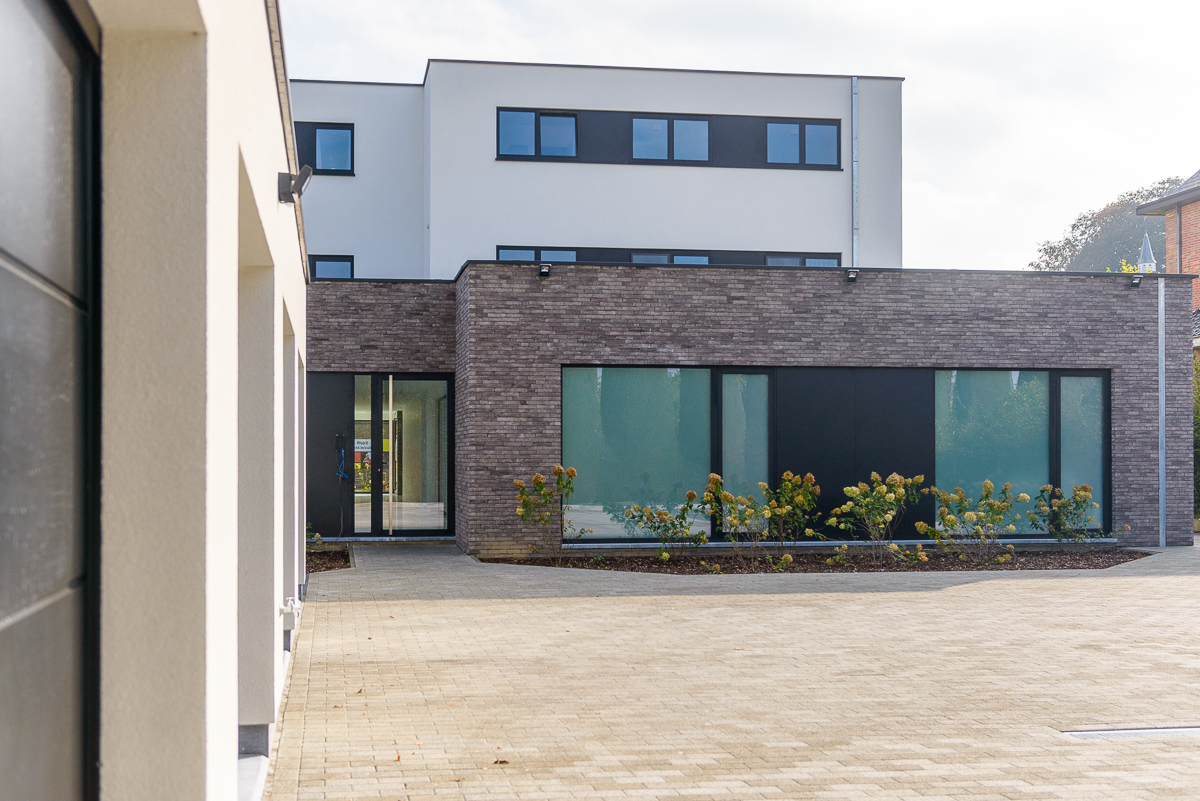 Inkom moderne nieuwbouw voor medisch centrum in Ternat