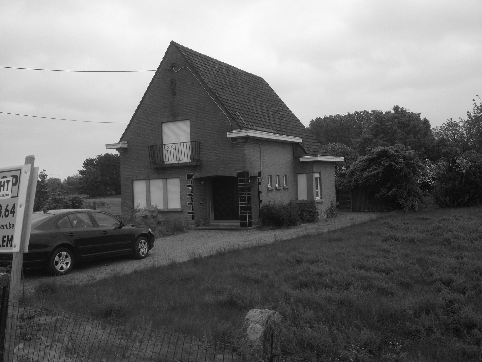 Detailfoto voor de renovatie hedendaags-moderne totaalrenovatie woning