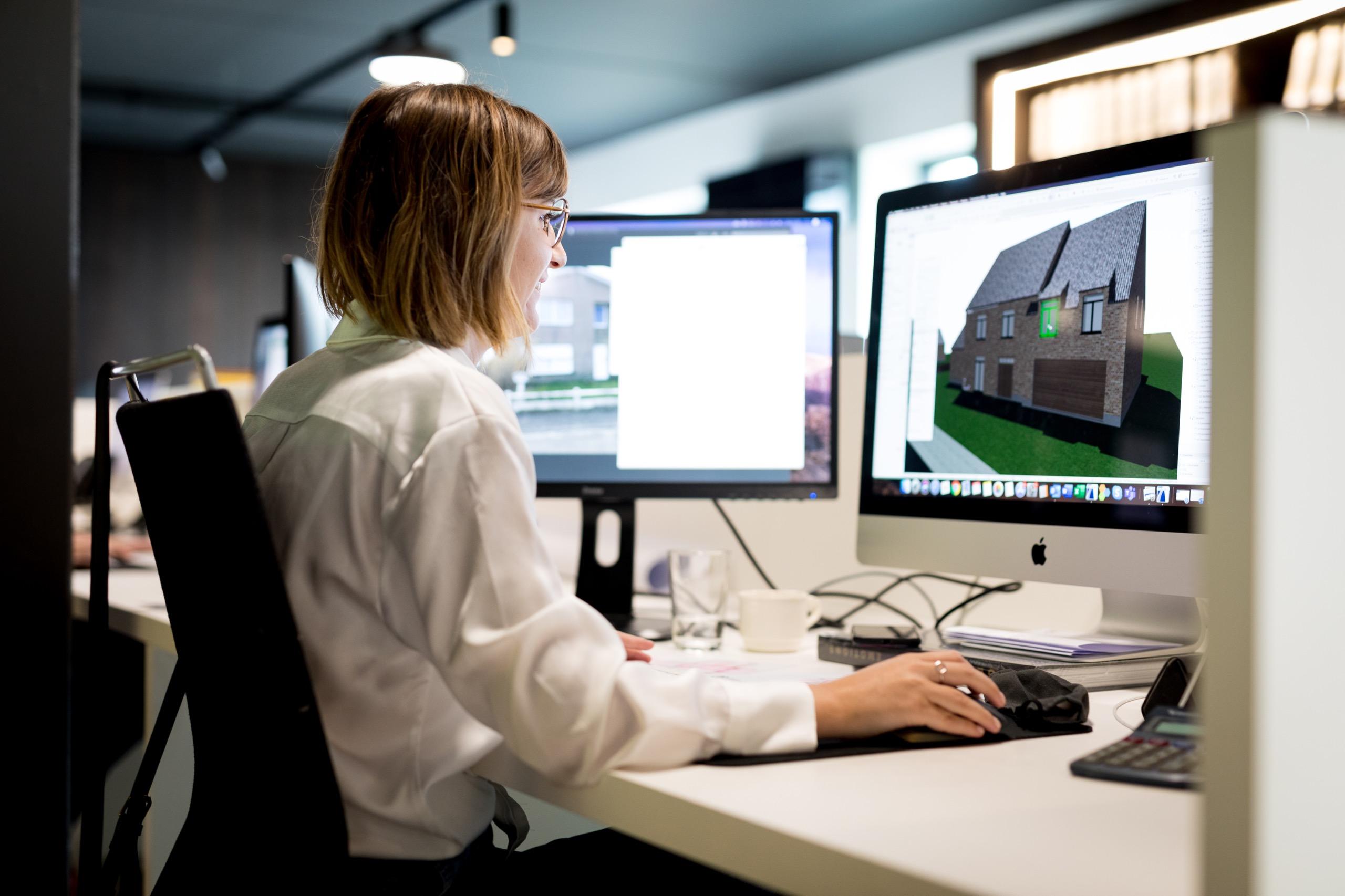 Flore is een ontwerp aan het maken voor een modern-hedendaagse woning