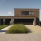Voorgevel hedendaags-moderne villa